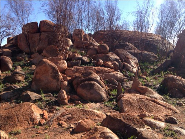 On the way to the Pebbles, Tennant Creek