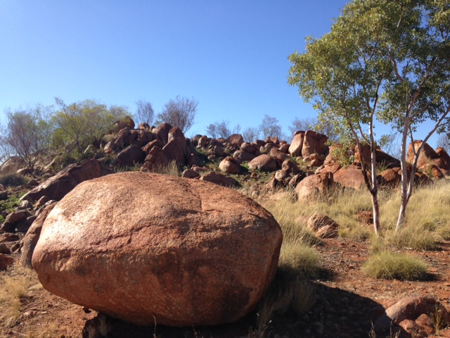 The Pebbles, Tennant Creek