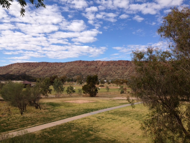 View from hotel room, Alice Springs